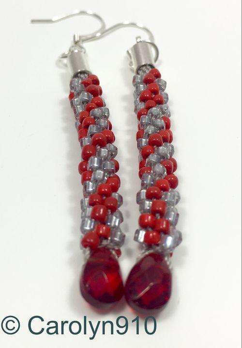 Fibonacci earrings